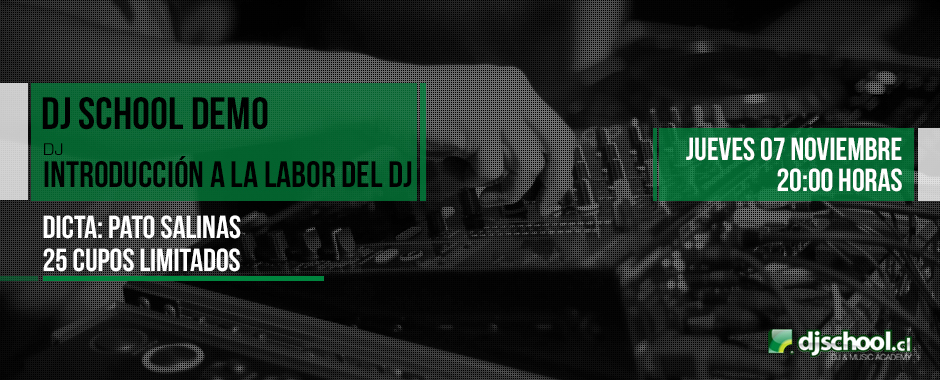 Demo Introducción a la labor del Dj