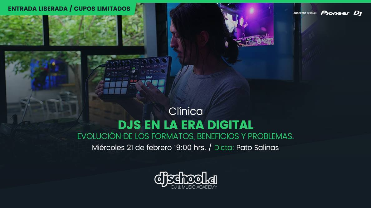 Clínica Djs en la era digital